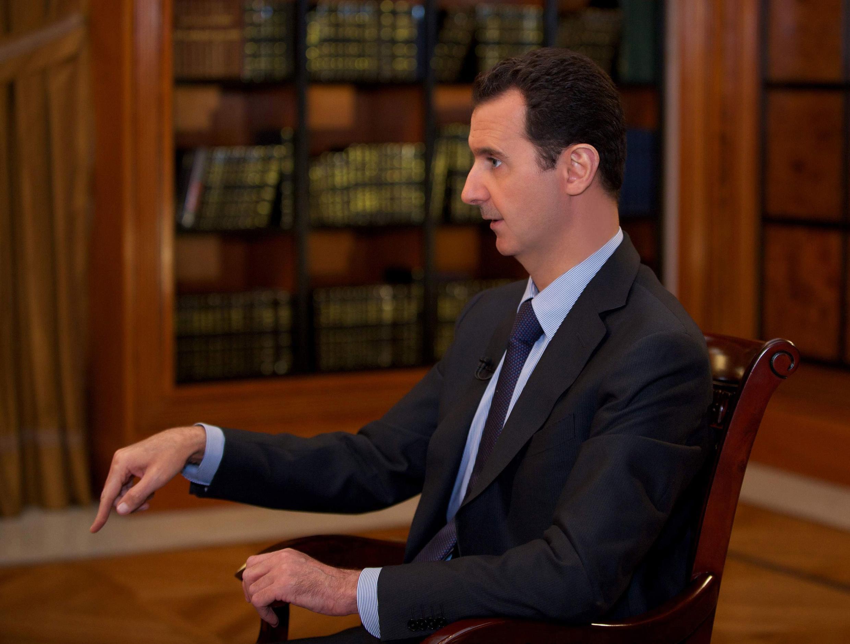 Not on the peace talks guest list - Syrian President Bashar al-Assad
