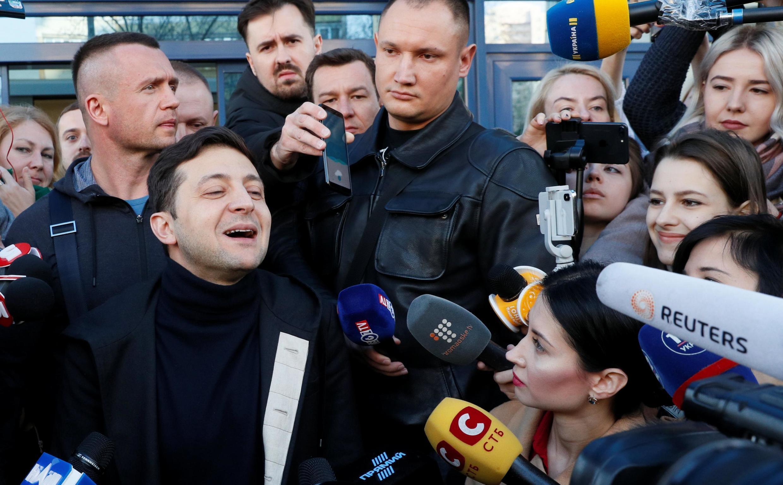 Актер Владимир Зеленский 5 апреля 2019