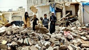 wasu kanan Yara da yakin Yemen ya raba da muhallansu tare da haramta su ci gaba da zuwa makaranta.