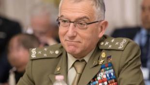 欧盟军事委员会主席格拉奇亚诺资料图片