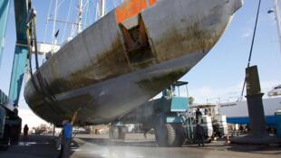 O veleiro do projeto Tara Oceans vai concluir a volta ao mundo em março de 2012.