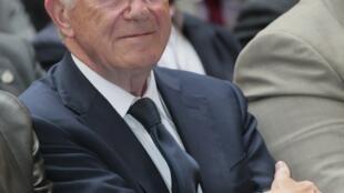 L'ancien ministre français des Affaires étrangères, Herve de Charette, le 18 septembre 2012.