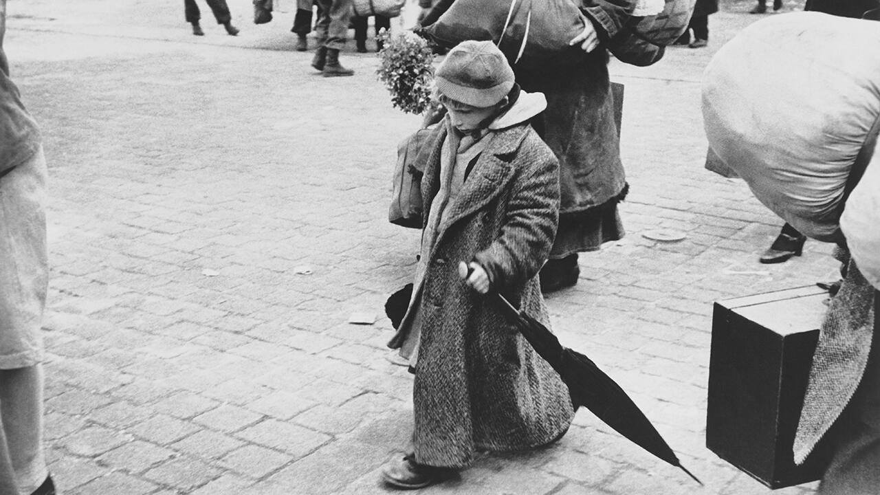 Дессау, Германия, май-июня 1945. Фрагмент.