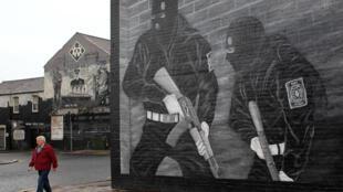 Dans une rue de Belfast, en Irlande du Nord, le 30 décembre 2013.