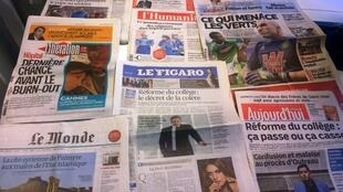 Diários franceses 21/05/2015