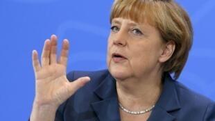 La canciller alemana organizó esta nueva reunión sobre el desempleo juvenil.