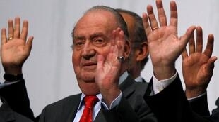 L'ancien roi espagnol Juan Carlos, lors d'un sommet avec des responsables ibéro-américains, à Cadiz le 17 novembre 2012.