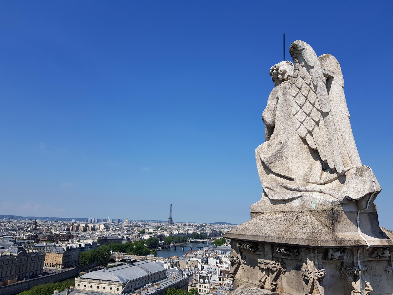 Vista do topo da Torre Saint-Jacques.