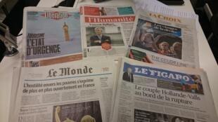 Diários franceses 31.10.2016