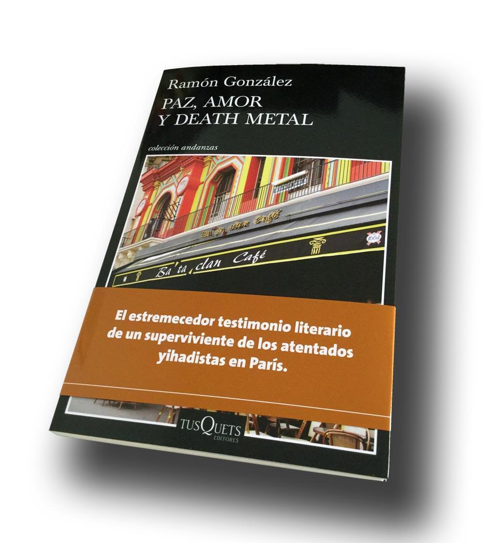 Portada del libro de Ramón González.
