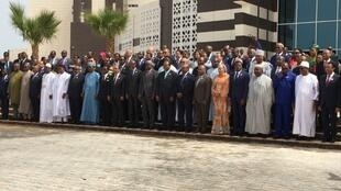 Photo de famille au sommet de l'Union africaine.