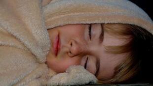 Enfant qui dort.