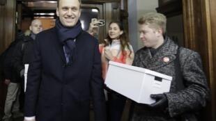 12月24日普京政治對手納瓦爾尼