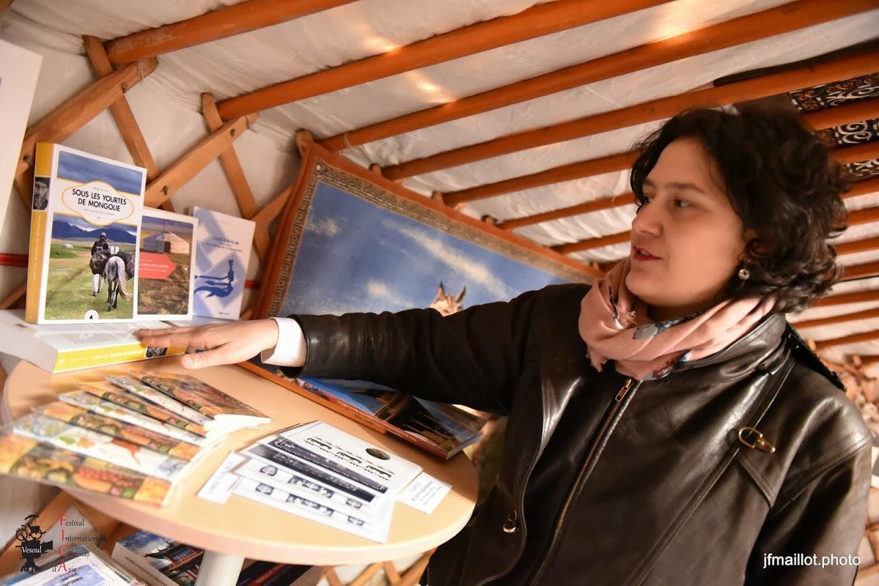 Laura Nikolov, giám đốc Alliance française ở Oulan Bator, Mông Cổ.