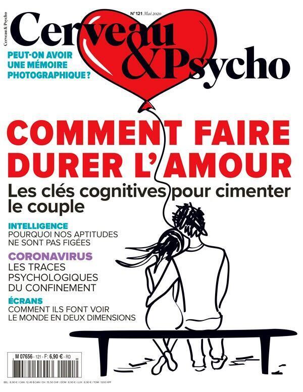 """Couverture du magazine """"Cerveau et Psycho"""" du mois de mai 2020."""