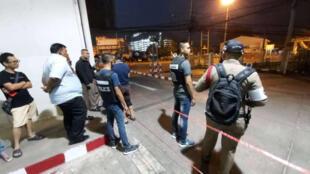 泰国曼谷东北部的呵叻地区发生一起大规模枪击案,至少17人死亡、14人受伤             2020年2月8日