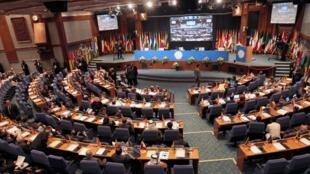 Ouverture du XVIe sommet des non-alignés, à Téhéran, ce jeudui 30 août 2012.