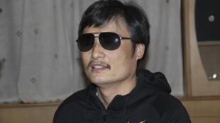 O activista chinês Chen Guangcheng