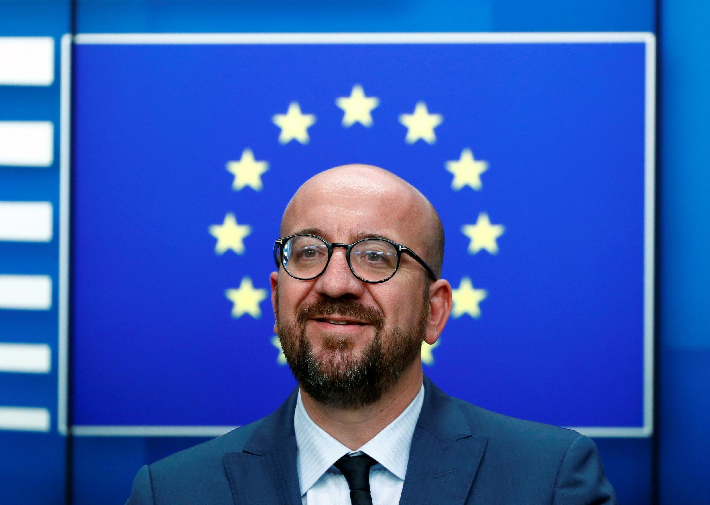 歐盟理事會主席米歇爾Charles Michel2019年7月2日布魯塞爾