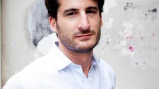 Portrait de l'écrivain Emmanuel Ruben.