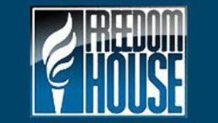 美國自由之家批評全球網絡自由度連續五年下降 圖為自由之家標識