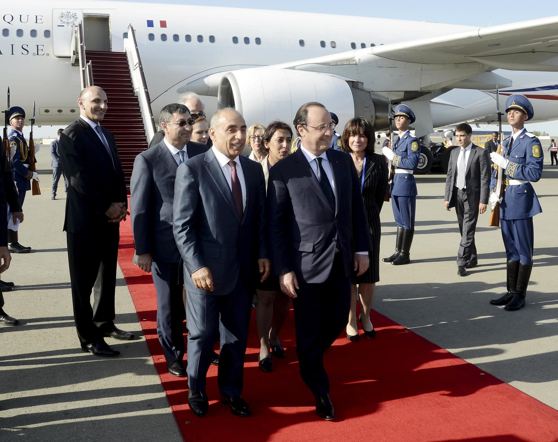 Ziyarar Shugaban Faransa François Hollande a Azerbaijan