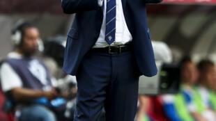 Fernando Santos, seleccionador de Portugal.