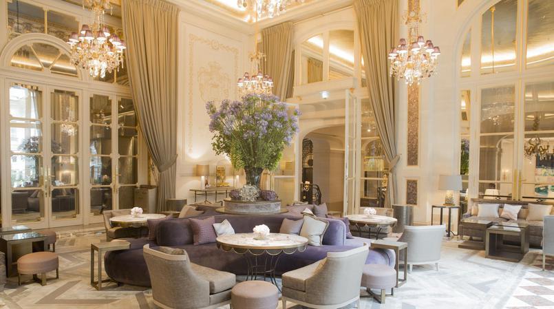 O Hotel Crillon foi completamente renovado