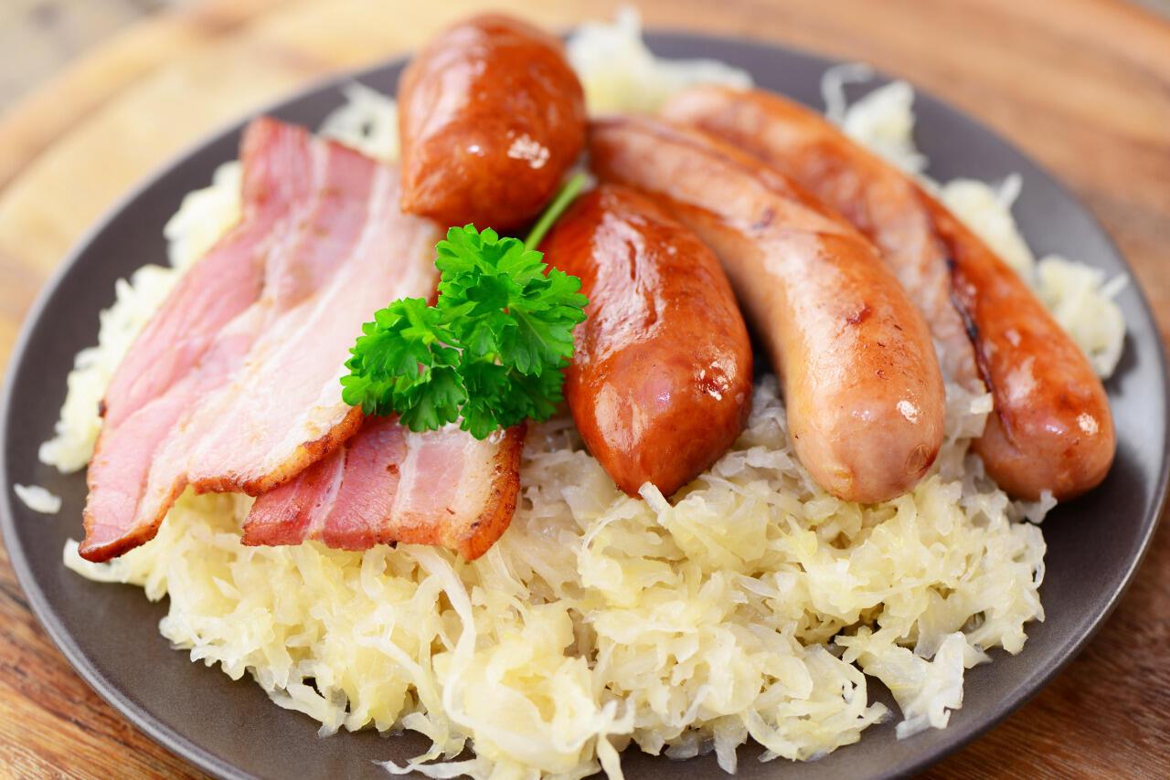 法式酸菜腌肉香腸鍋(choucroute)