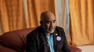 Incumbent President Azali Assoumani during an interview at Anjouan-Ouani airport, Comoros on 20 March 2019.