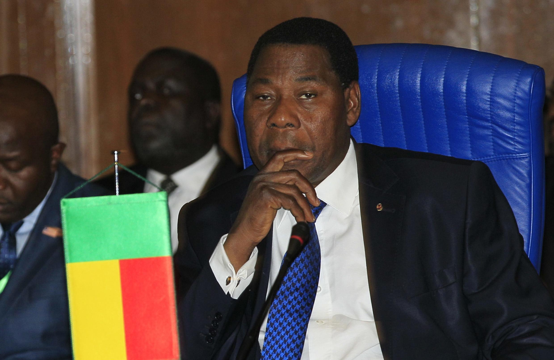 Le président du Bénin Thomas Yayi Boni