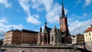 Une vue de Stockholm, capitale de la Suède.