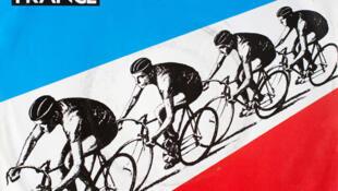 Caratula del disco Tour de France del grupo Kraftwerk