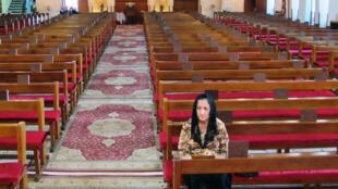 Dans l'église Saint-Joseph de Bagdad, le 15 mars 2013.