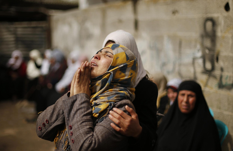 No dia 3 de março, dois palestinos tinham sido mortos por soldados israelenses no norte da Faixa de Gaza.