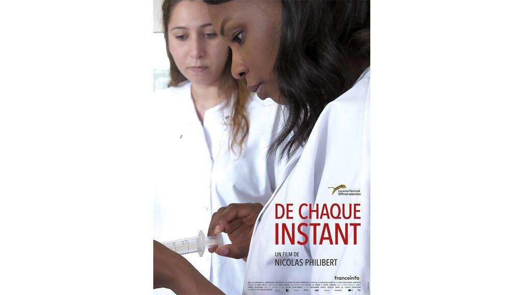 L'affiche du film «De chaque instant» de Nicolas Philibert.