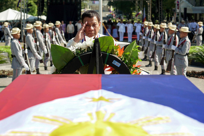 Image d'archive: Aux Philippines, le Congrès entame des discussions à propos d'une possible réforme constitutionnelle, laquelle permettrait le Président Rodrigo Duterte d'enchaîner deux mandats de cinq ans chacun.