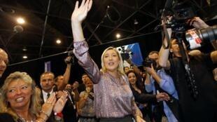 Популярность Марин Ле Пен растет во Франции