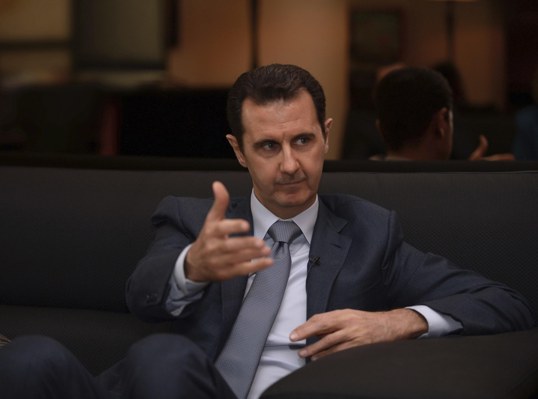 El presidente sirio, Bashar al-Asad.