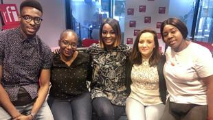Luc-Yvon, Nagnouma, Diara Ndiaye, Anissa et Amina.