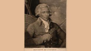 Portrait peint de Joseph Bologne de Saint-George dit Chevalier de Saint-Georges (1745-1799)