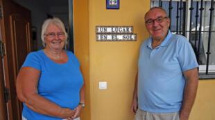 «Une maison au soleil», c'est le nom d'une  émission britannique que Kathleen et Glyn regardaient en Angleterre avant de prendre leur retraite dans ce petit appartement de Mijas, il y a 9 ans.