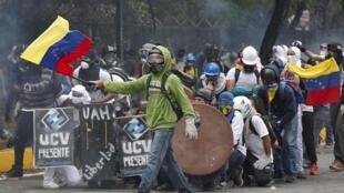 Desde fevereiro, a Venezuela enfrenta uma onda de protestos contra o governo do presidente Nicolás Maduro.