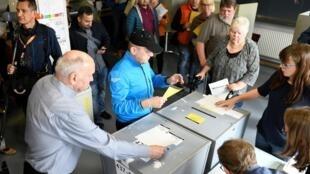 انتخابات پارلمان اروپا در شهر برمن آلمان