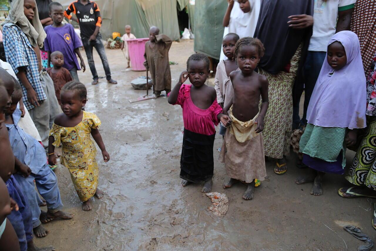 'Yan gudun hijirar rikicin Boko Haram na bukatar agajin abinci
