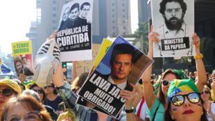 En la avenida Paulista miles de personas piden la destitución definitiva de la presidenta Rousseff