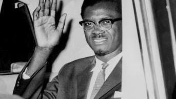 Patrice Lumumba ziarani New York, Agosti 1960. Aliuawa miezi sita baadaye huko Katanga.