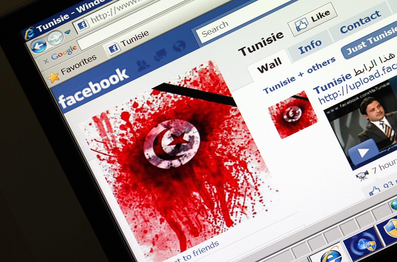 Redes sociais contribuíram na queda do governo da Tunísia.