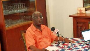 Nicolas Djibo, maire de Bouaké et président de la Chambre de Commerce et d'Industrie de Côte d'Ivoire.