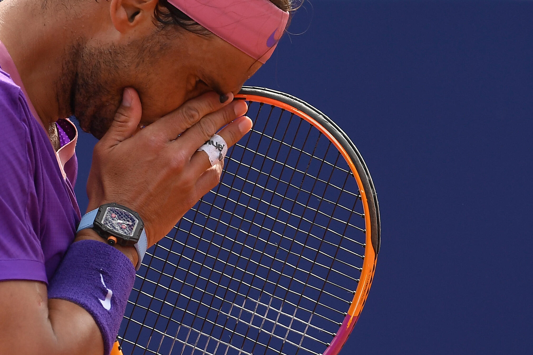 Tennisman Rafael Nadal has pulled out of the US Open, effectively ending his 2021 season.